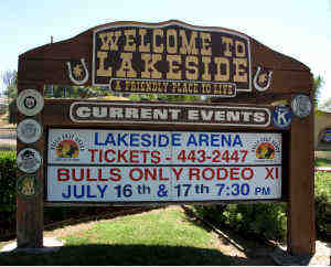 What is Lakeside CA known for?
