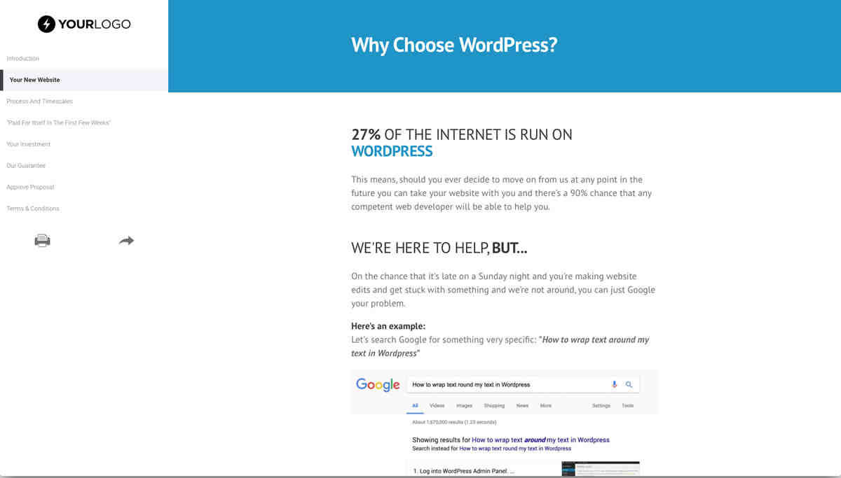 What is WordPress in web design?